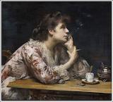Amélie Beaury-Saurel, Dans le bleu, 1894