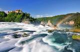 The Rhine Falls Schaffhause Germany