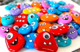Pebble monsters..........................x