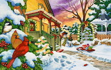 Christmas Art by Nancy Wernersbach @ puzzlewarehouse.com...