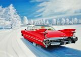 Ken Eberts - Red Cadillac
