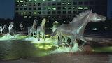 Irving, TX Night Mustangs