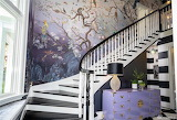 Jungle Mural Stairway