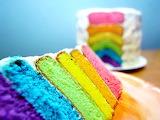 Rainbow cake...again