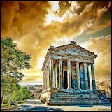 The Temple of Garni, Armenia