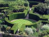Formal Garden Sissinghurst Castle England