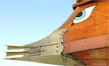 Trireme, eye by Christy E. Ioannidou perialos.blogspot.gr