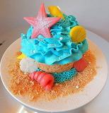Starfish cake @ Cake Central