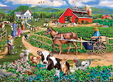 the American farm picture