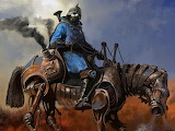 Steampunk-horseman