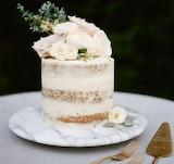 Semi-Naked Carrot Wedding Cake