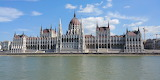 Building of parlament. Budapest