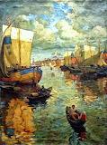Nizhny Novgorod by Konstantin Gorbatov 1919