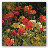 Leon Roulette - Iceland Poppies art print