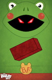 The Venture Bros. Brick Frog by transitoryspace-d6hgdtj