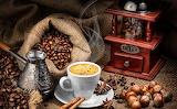 Café à l' ancienne..