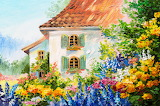 House In the Flower Garden