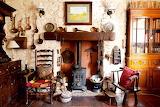 cottage fireplace