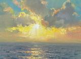 Atlantic Sunset by Mark Preston
