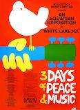 Woodstock poster in 1969