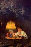 "Art tumblr enchantedbook ""Norman Rockwell"""