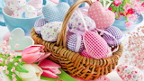Decoration-easter-spring-eggs-flowers