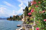 Lake-como-flowers-pier-dock-shore-house-statue