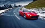 red car-Aston Martin