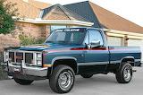 GMC Sierra classic pickup 1987