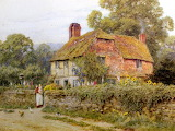 A Surrey Cottage ~ Helen Allingham
