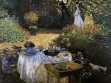 """""""The Luncheon"""" Claude Monet"""