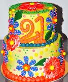 Cake @ Leah's Sweet Treats