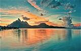 Otemanu Sunset Bora Bora