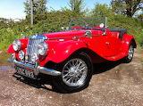 ^ MG sports car 1954
