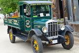 Vintage, truck, classic, deliveries, green, retro