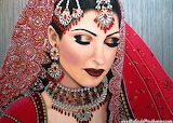 Indian Bride by Malinda Prud'homme