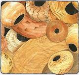 Baskets: 100 pieces non-rotating
