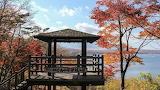 Lake Yamanakako in Autumn