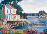 Painting - Deer Harbor