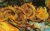 Autumn Still Life Sunflowers by Vincent Van Gogh