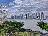 Toronto Skyline, View from Wards Island