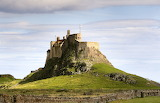 Lindisfarne Castle On Holy Island England