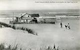 La plage de l'Horizon au Cap Ferret, années 1950