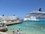 Cruise ship Cozumel Mexico