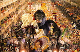 King Kong on Rio Carnival 2017