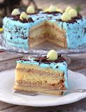 Robin egg blue Easter cake