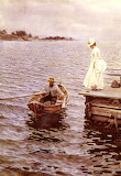 For Vovka. Summer Entertainment 1886. Anders Zorn