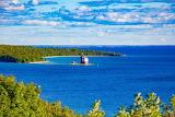 Mackinac Island Round Island by Katharine Rose Witt