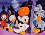 #Donald Duck's Halloween