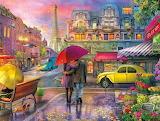 Rainy day in Paris